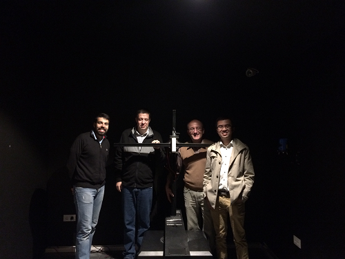 Picture 4: The second Spain customer purchased LSG-1700B High Precision Rotation Luminaires Goniophotometer