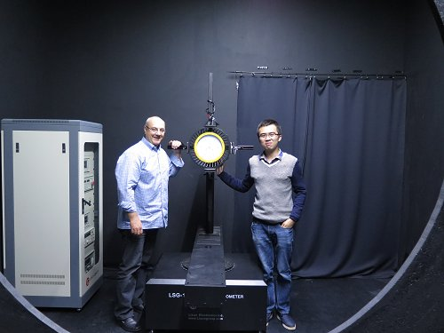 Picture 5: TheGermanycustomer purchased LSG-1800BCCD High Precision Rotation Luminaires Goniospectroradiometer
