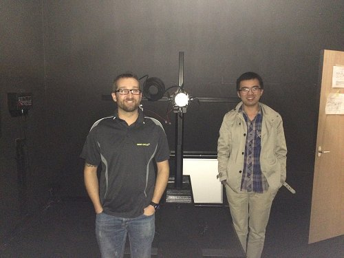 Picture 6: The UK customer purchased LSG-1800B High Precision Rotation Luminaires Goniophotometer
