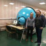 Russia installs training LPCE-3 compact spectrum radiometer integrating sphere system