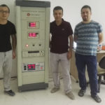 Figure 1: Group photo of the customer and LISUN engineer(The left)